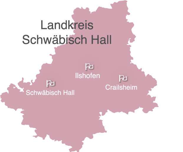 Ihr Pflegedienst in Crailsheim, Ilshofen und Landkreis Schwaebisch Hall